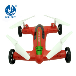 2.4GHz Terrestrial and Flying RC Drone with Camera Optional