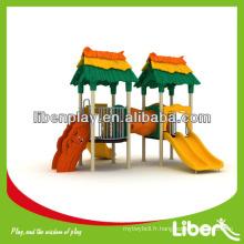 Diapositives modulaires pour enfants usées, équipement de terrain de jeux pour parc, aménagement extérieur pour jardin amusant LE.LL.005