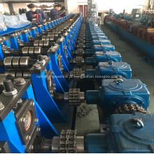 Máquina rollforming e de dobra do tanque de água do silo do metal