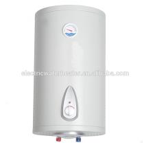 Vertikale an der Wand befestigte stellen allgemeinen elektrischen Warmwasserbereiter der Temperatur ein