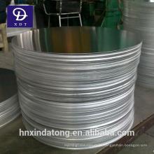 1050/3003 círculo de alumínio para pote