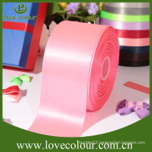 "Custom printed satin polyester ribbons 4"" wide ribbon"