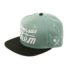 Custom Flatbill Mix Material Snapback Hats