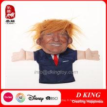 Peluche Drôle Donald Trump Handpuppets Américain Président Jouet Éducatif