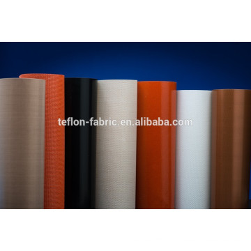 Fabricant de JIANGSU Tissu résistant à la chaleur en fibre de verre revêtue de ptfe