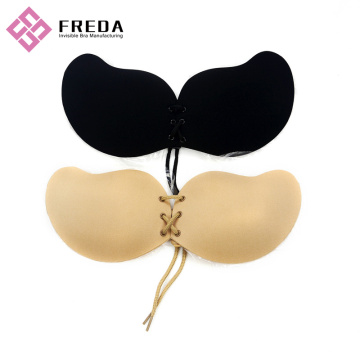 Lace Adjustable Adhesive Strapless Bra