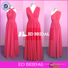 ED Bridal Custom Made Long Chiffon Changeable Bridesmaid Dress 2017 High Quality