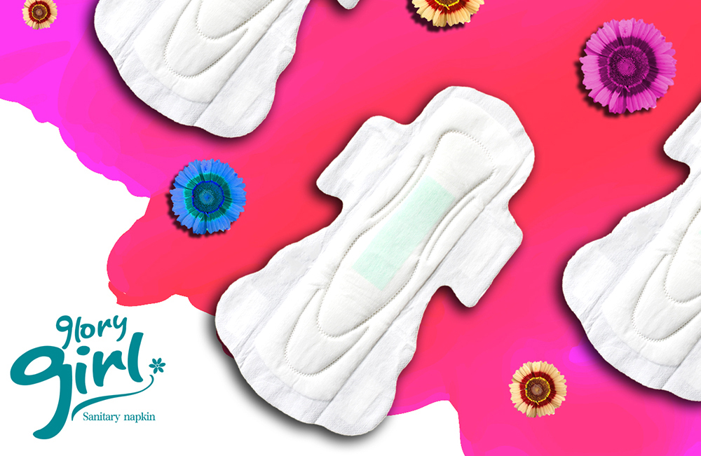 100 Cotton Sanitary Pads