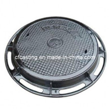 D400 Ductile Manhole Cover Round with Frame