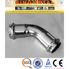 F304 Stainless Steel Press Fittings 45 Degree Elbow