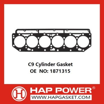 C9 Cylinder Gasket OE NO 1871315 Excavator Engine parts