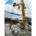 ABS Certificate 100 T Capacidad de elevación Crane Knuckle Boom Crane