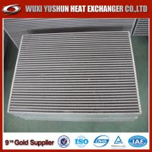 Hot Selling Custom Aluminium plate Fin Excavator Oil Cooler Core