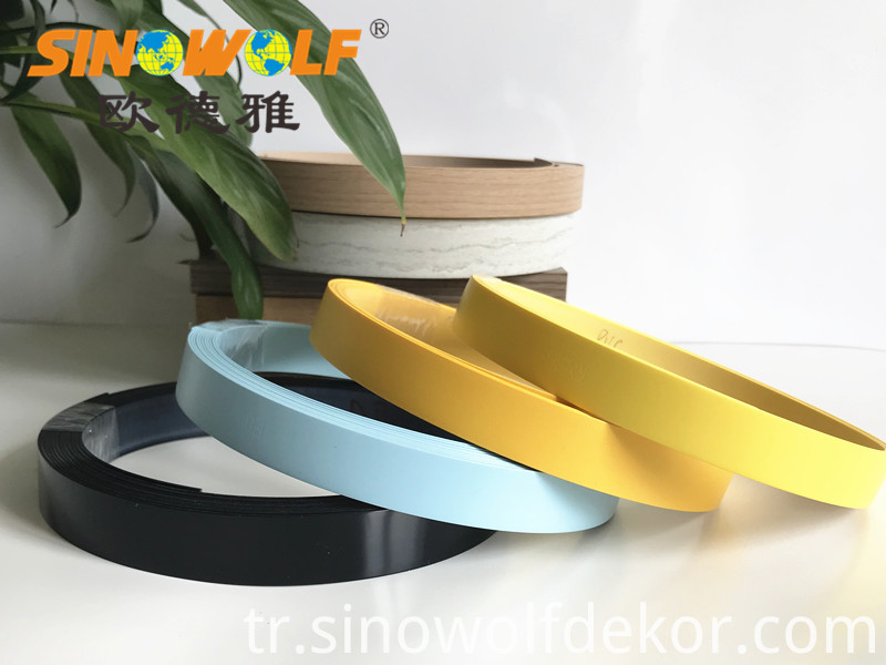 Solid Color PVC Edge Banding