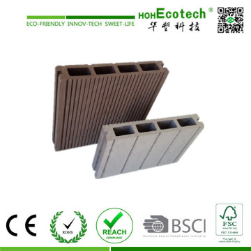 150*25mm Hollow Composite Outdoor Decking Board