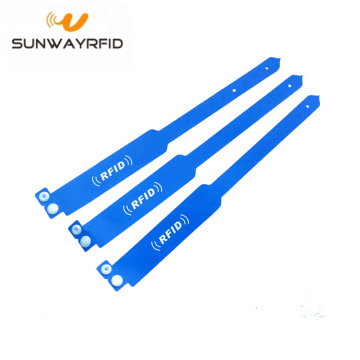 Tag riscrivibile UHF PVC RFID Wristband