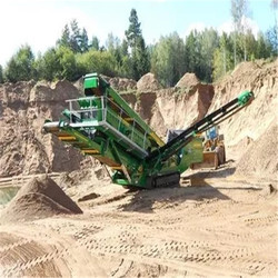 Crawler Portable Crushing And Screening Plant