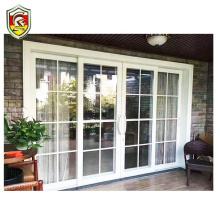 120mm heavy duty architectural aluminium frame powder coated winterize sliding doors