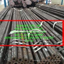 Laminados a quente ASTM A106 Grau B carbono tubo de aço sem costura profissional fabricante