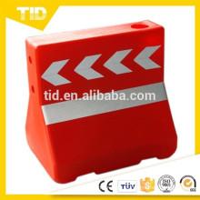 Cubo de plástico para carretera de seguridad para película reflectante