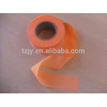 light orange polyester reflective strips