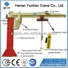 High Performance 1 Ton electric hoist Jib Boom Crane Morequestions,pleasesendmessagetous!