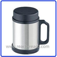 Нержавеющая сталь поездки кофе Кубок с крышкой (R-5014)