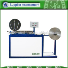 Spiral flexible aluminum foil duct machine PAD-300