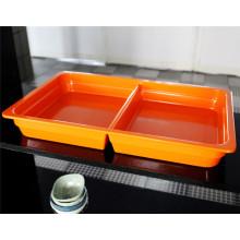 Kundenspezifisches Melamin-Frucht-Nachtisch-Tellersegment (CP-010)