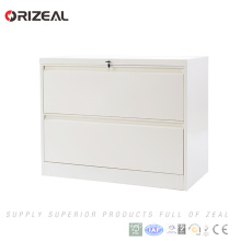 Orizeal 2 Drawer Vertical Lateral Filing Cabinet with Anti Titled Lock(OZ-OSC033)
