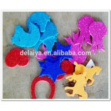 glitter EVA foam stickers for children handmade