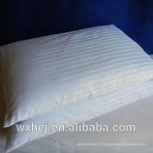 Taie d'oreiller 100% coton / maison blanche