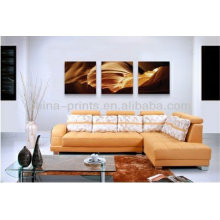 Abstract Canvas Painting Art With Giclee Print For Wall Decor
