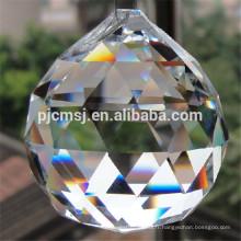 2017 meilleur vente personnalisé 30mm petite boule de cristal avec rose intérieur
