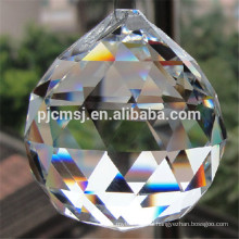 2017 best selling custom 30mm small crystal ball with inside rose