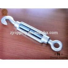Les vis de gréement sont fabriquées avec un tendeur de haute qualité électro-galvanisé din1480