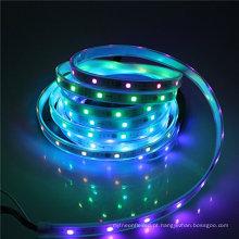 Luz de tira WS5011 de 5050 SMD RGB 30LED / M IC que persegue luzes mágicas da cor do sonho