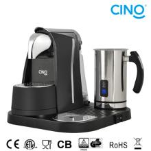 Máquina de café la cápsula L/B con espumador de leche