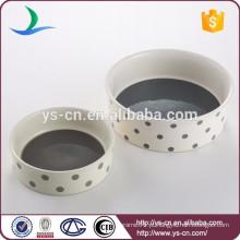 Pet Saúde cerâmica Dog Food Bowls