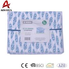Alibaba de alta calidad precio barato venta de impresión dispersa bien cubierta de edredón de lujo