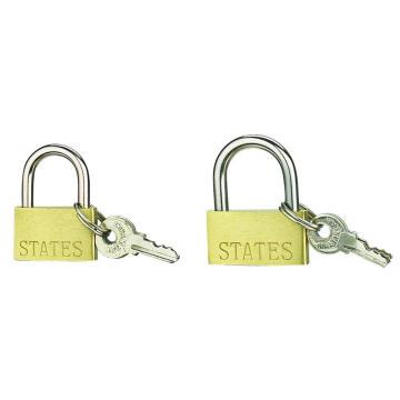 20MM dünnen Messingschlösser mit Eisen-Schlüssel für den Großhandel