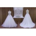 Preço de atacado Guangzhou Design Beading Corpete Vestido De Noiva