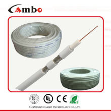 Коаксиальный кабель RG58 медный плакированный алюминий 75 Ом