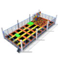 Indoor Trampoline Park Foam Pit Play