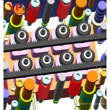 Conception en plastique de moule d'engrenage à vis sans fin en plastique de pièces industrielles faites sur commande haute précision