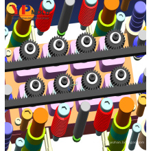 Molde plástico personalizado preciso alto da engrenagem de sem-fim das peças industriais / projeto de molde