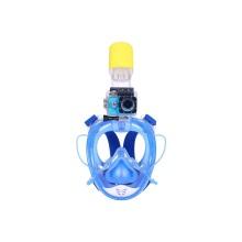 Маска для снорклинга с защитой от запотевания RKD easy дышит