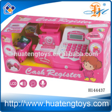 2014 Children's plastic cash register toy set ,toys education electronic cash register toys for kids H144437