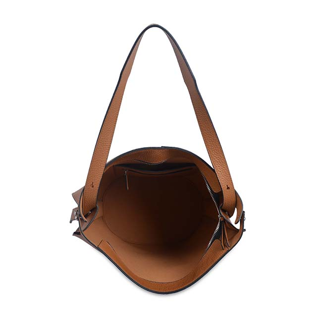 new arrival womens handbags and purses Rivet cow leather bucket bag