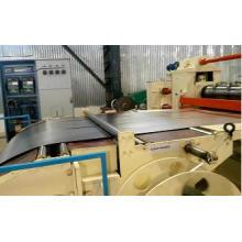 Máquina de corte de aço galvanizada velocidade média do metal da bobina do zinco